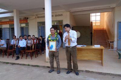 Trao giải khuyến khích sáng tạo trẻ lần thứ V tỉnh Dak lak 2016-2017