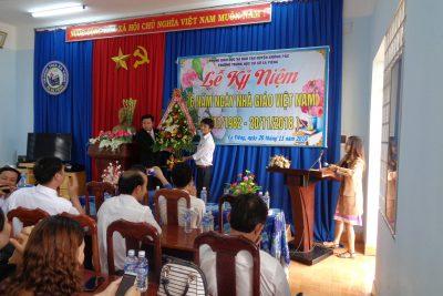 Một số hình ảnh kỷ niệm 36 năm ngày nhà giáo Việt Nam